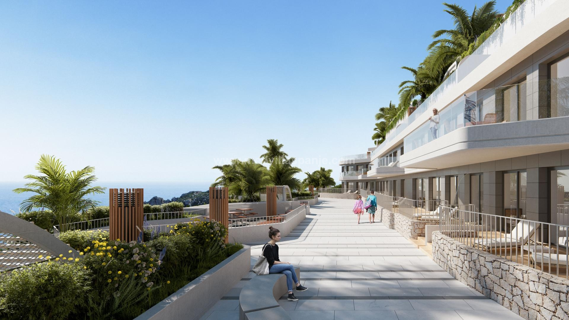 Appartement de 3 chambres à coucher à Aguilas, Costa Cálida in Medvilla Spanje