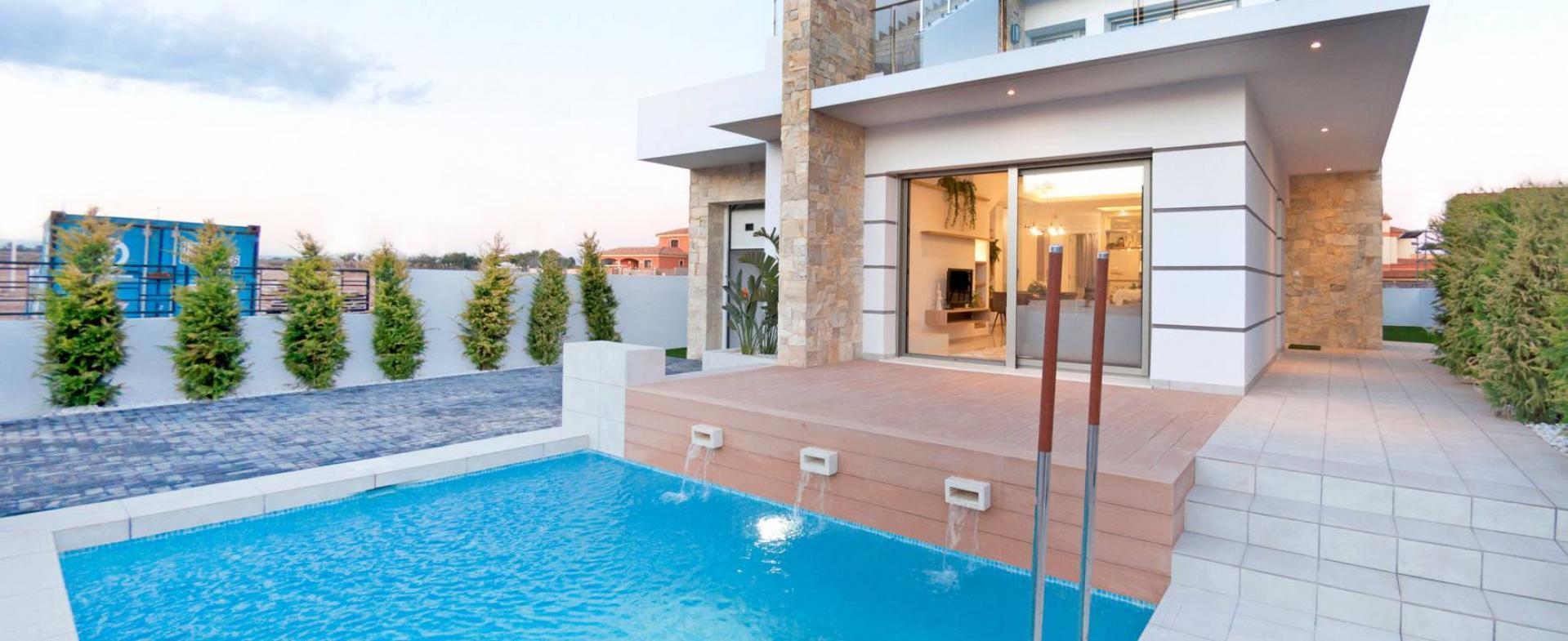 Villa moderne en Los Alcazares Costa Calida, en Espagne in Medvilla Spanje