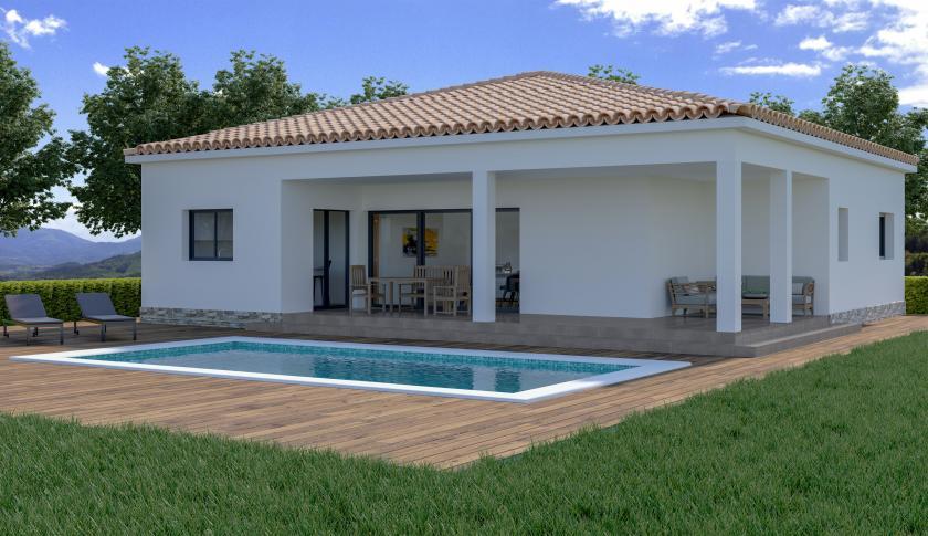 Villa neuve sur plan à vendre à Macisvenda, Murcie in Medvilla Spanje