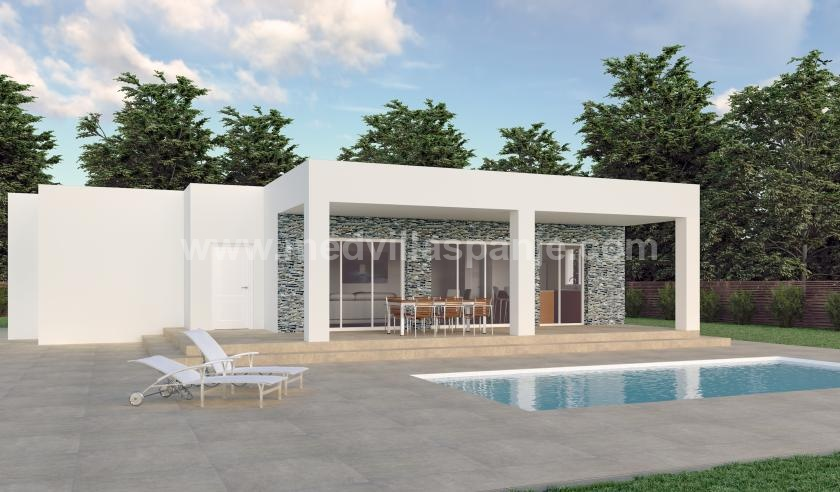 Nouvelles villas sur plan à vendre à Hondon de los Frailes, Alicante in Medvilla Spanje