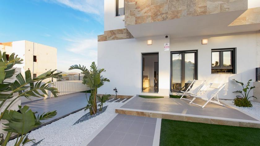 Villa jumelée Maison témoin à vendre à Polop in Medvilla Spanje