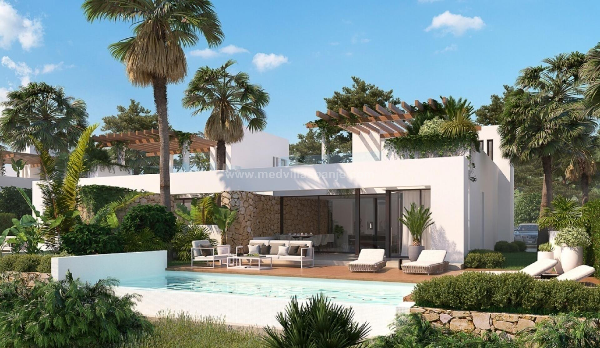 Villa sur le complexe de golf exclusif Font Del Llop, Aspe - Costa Blanca in Medvilla Spanje