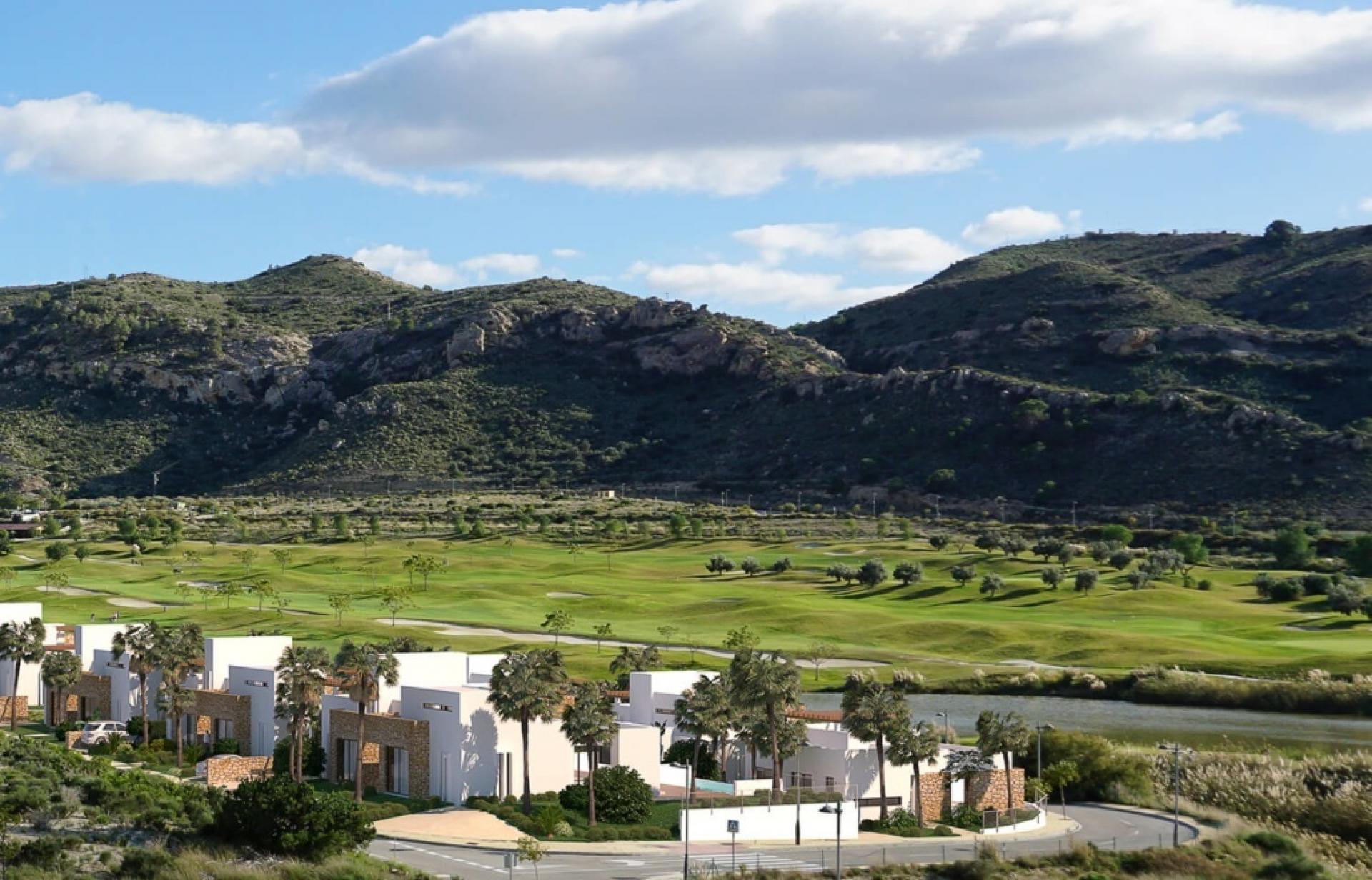 Maison de ville sur le complexe de golf exclusif Font Del Llop, Aspe - Costa Blanca in Medvilla Spanje