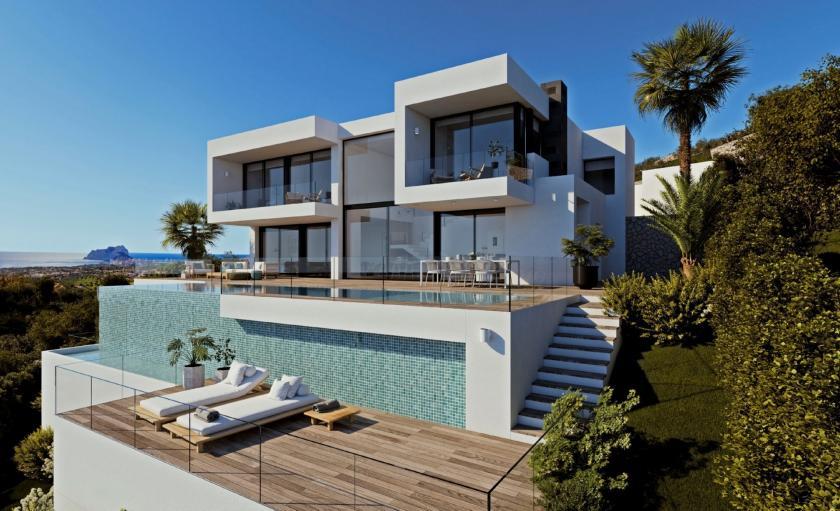 Villa Llebeig Villa Moderne de Luze à vendre à Jazmines Cumbre del Sol in Medvilla Spanje