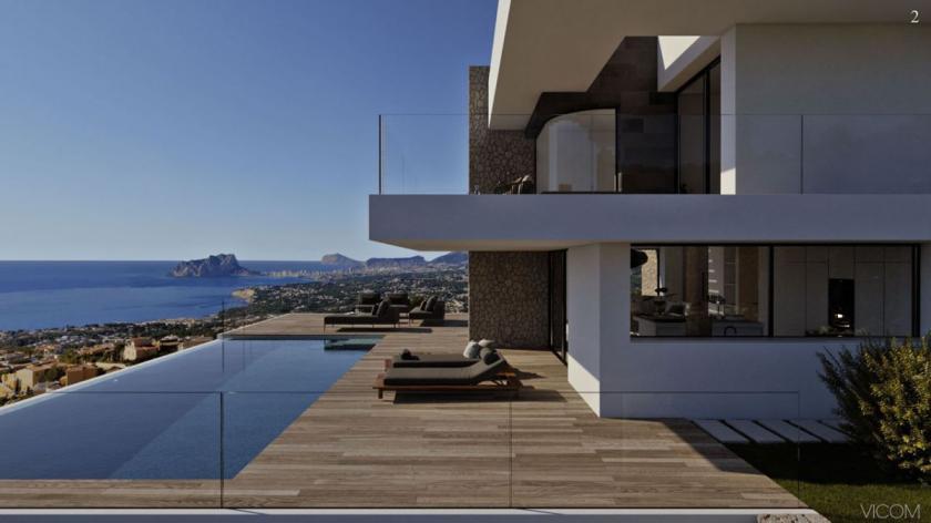 Villa Estrella Villa Moderne de Luze à vendre Cumbre del Sol in Medvilla Spanje