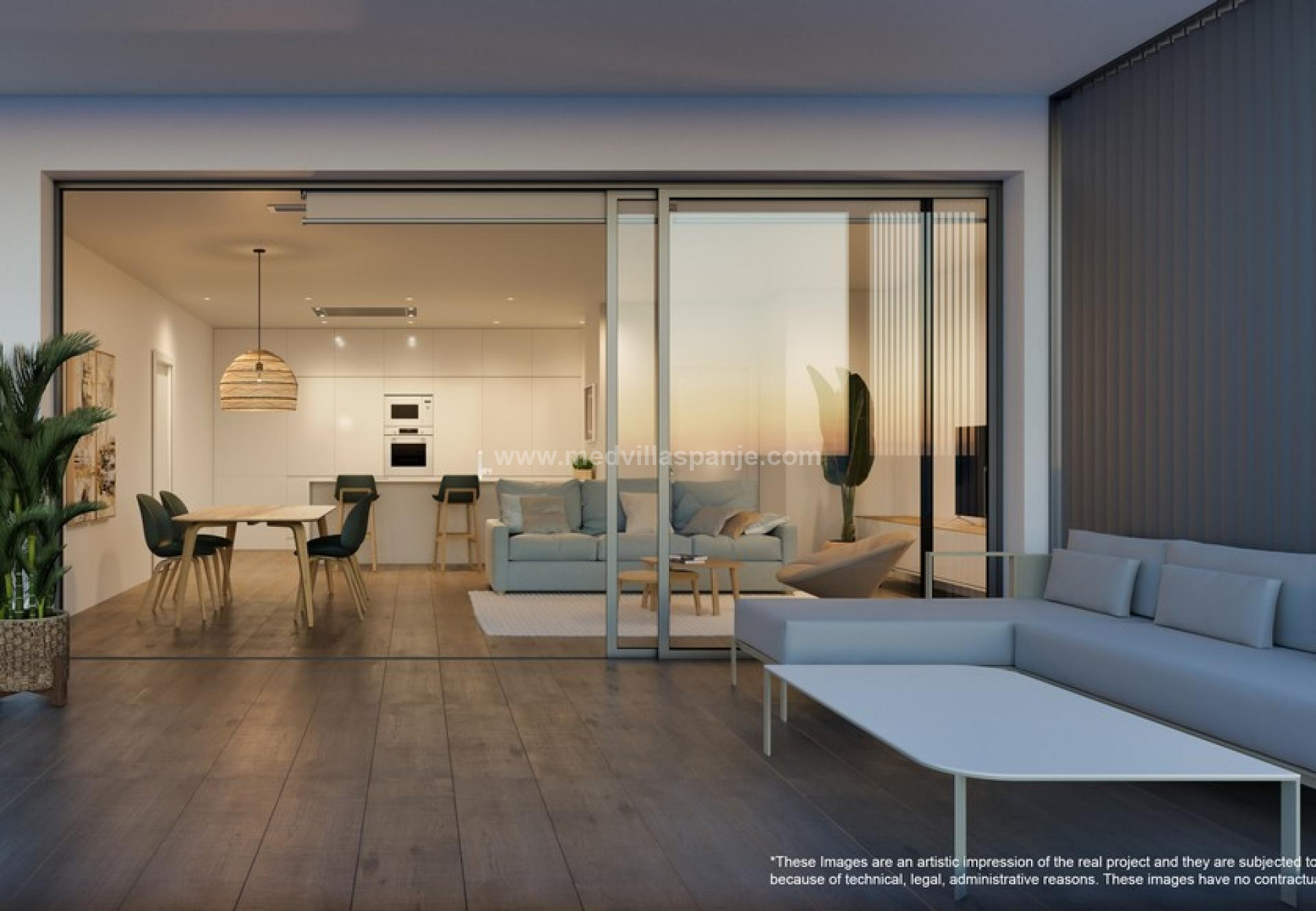Appartement 2 chambres avec jardin à Campoamor in Medvilla Spanje