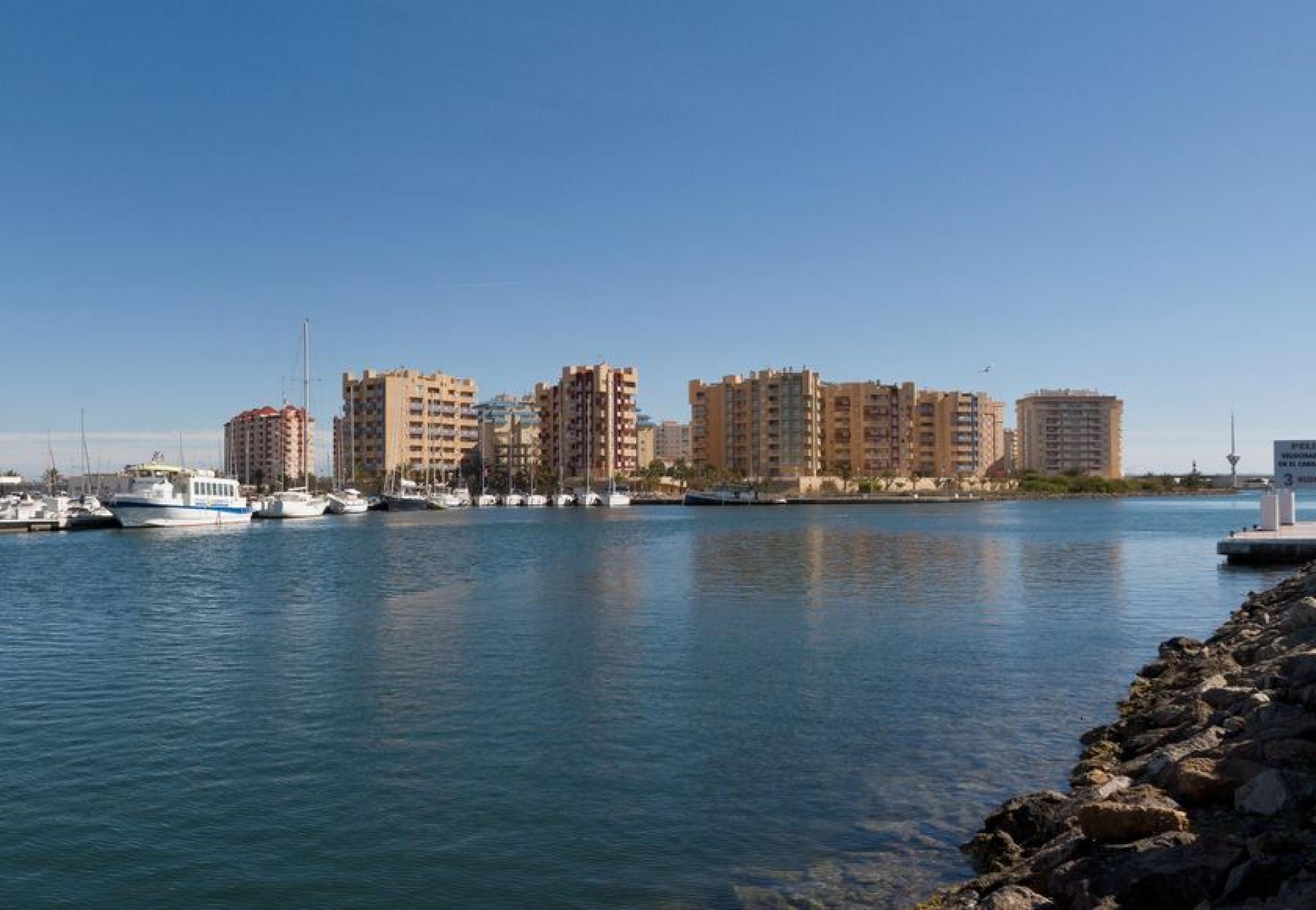 Appartements avec vue sur la mer, La Manga del Mar Menor in Medvilla Spanje