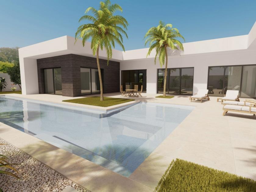 Dessinez et construisez votre propre maison à 600 m de la plage. in Medvilla Spanje
