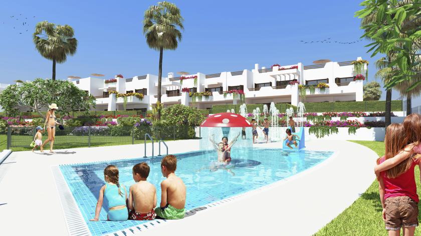 Appartement à la mer Mar de Pulpi - phase 6 in Medvilla Spanje