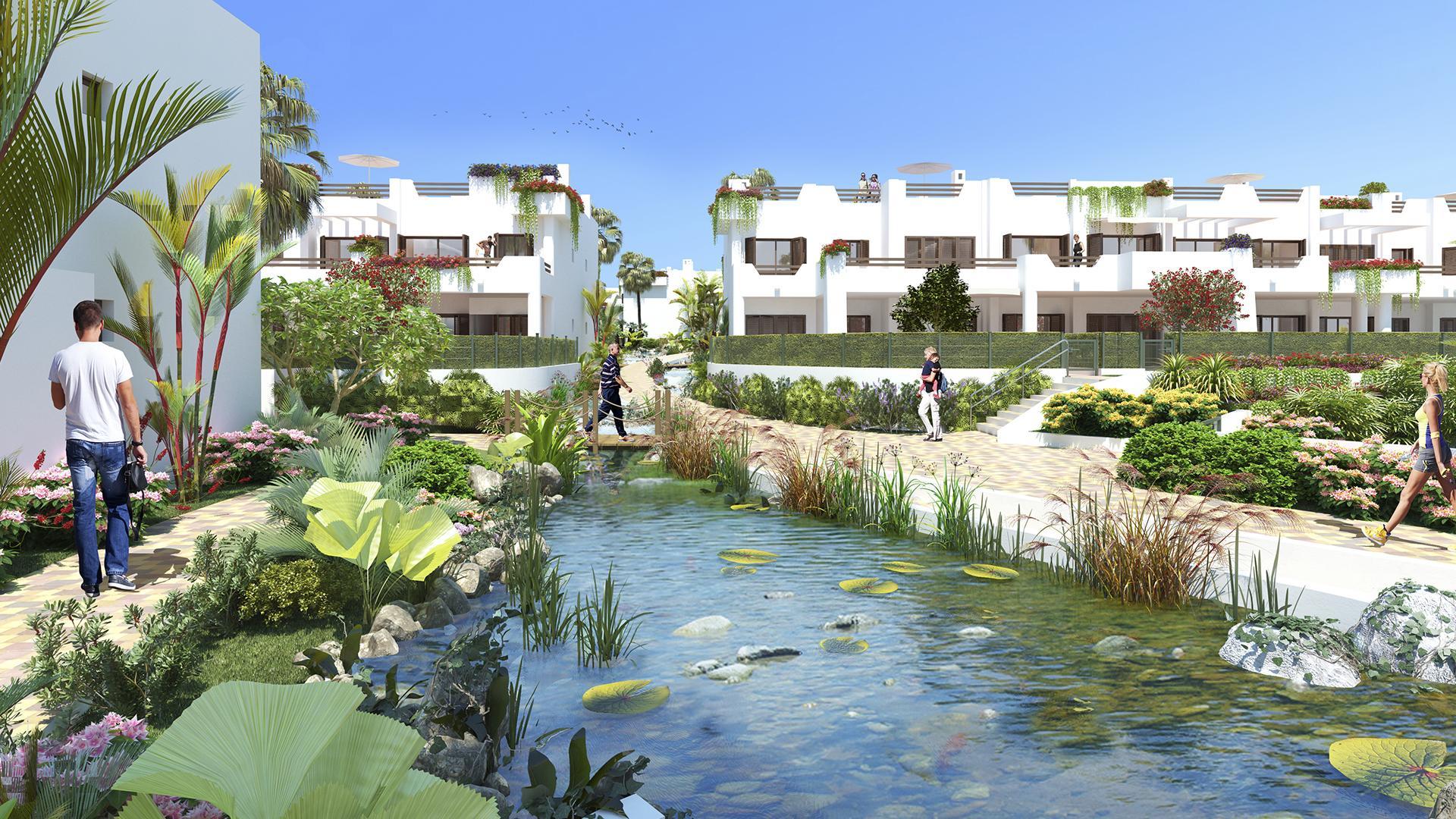 Penthouse 1ère ligne à la mer Mar de Pulpi - phase 6 in Medvilla Spanje