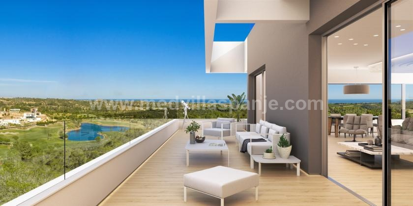 Appartements design Orihuela Costa in Medvilla Spanje