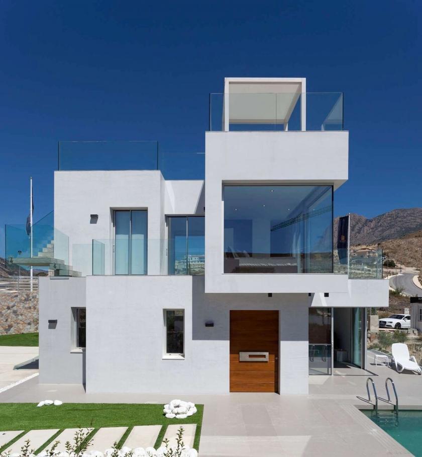 Villas de luxe méditerranéennes à Balcon de Finestrat - Benidorm in Medvilla Spanje