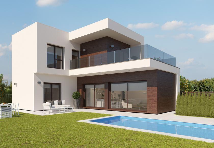 Villas modernes avec vue sur le golf près de Murcie in Medvilla Spanje