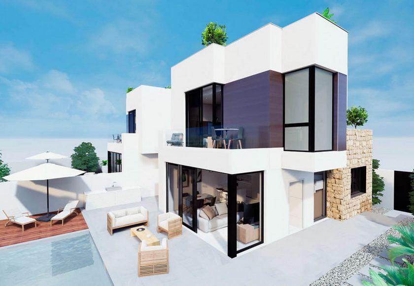 Villa de luxe avec vue sur la mer à vendre à Torrevieja in Medvilla Spanje