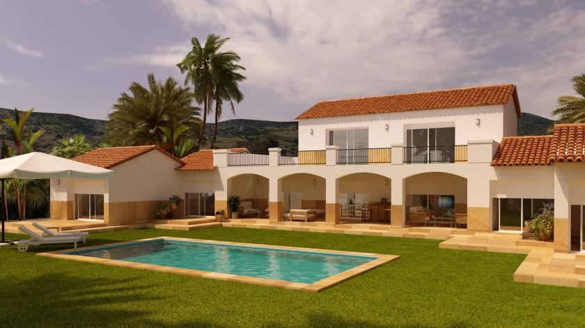 6 Chambre à coucher Villa à Alicante in Medvilla Spanje